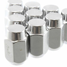 "20 Pc Set Chrome Steel Acorn Lug Nuts 7/16"" x 20 Closed End Chevy GMC"
