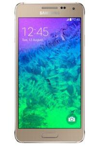 Samsung Galaxy Alpha Gold