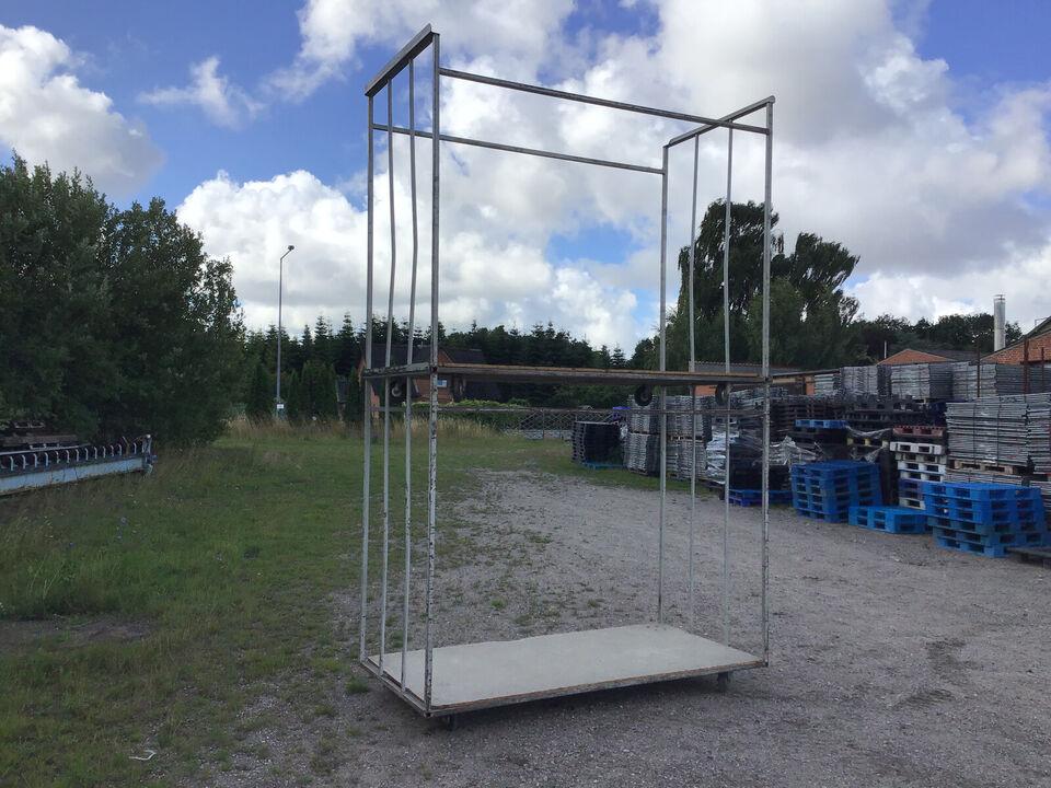 Rullebur stort B 244 x D 119 x H 209 cm - pris...