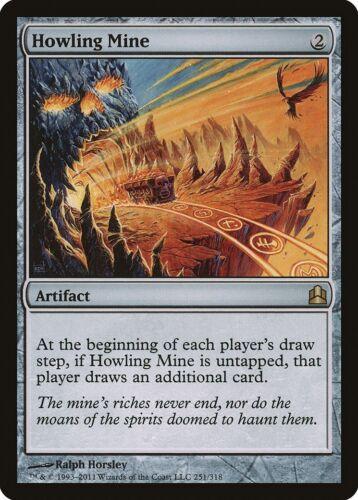 Howling Mine Commander NM Artifact Rare MAGIC THE GATHERING MTG CARD ABUGames