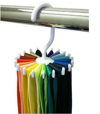 Tie Rack Adjustable Tie Belt Scarf Hanger Holder Hook Ties Scarf for Organizer