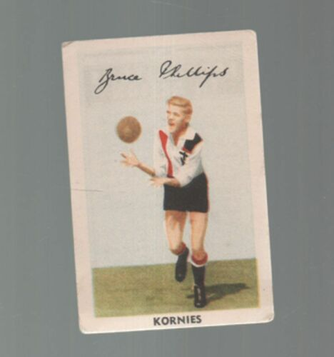 STKILDA The Saints KORNIES 1951 BRUCE PHILLIPS #7 STKILDA