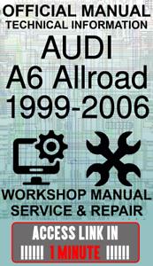 #ACCESS officina ufficiale di collegamento Manuale servizio e riparazione AUDI A6 ALLROAD 1999-2006
