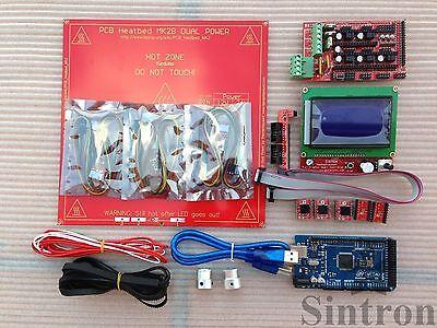 [Sintron] 3D Printer Kit Ramps 1.4 + Mega 2560 + Heatbed + Pulley Belt + Endstop