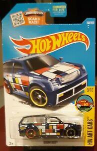 2016-Hot-Wheels-Super-Treasure-Hunt-199-Blue-Boom-Box-in-Protecto