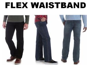 Men's Wrangler Authentics  Regular Fit Comfort Flex Waist Jean