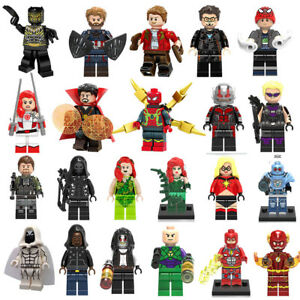 New-Lego-MARVEL-Minifiguren-Super-Heroes-Wasp-Black-Panther-Avengers-Mini-Figure
