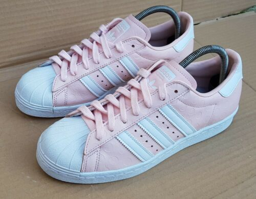 Adidas Trainers Gorgeous 6 Superstar 80's Rare Size Immaculate Uk Dot Polka Pink gcdWOc