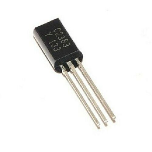 10 PEZZI  Transistor 2SC 2383 in-line triodo  TO-92L 1A 160 V NPN