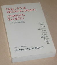 German Stories / Deutsche Erzählungen A Bilingual Anthology ed. Harry Steinhauer