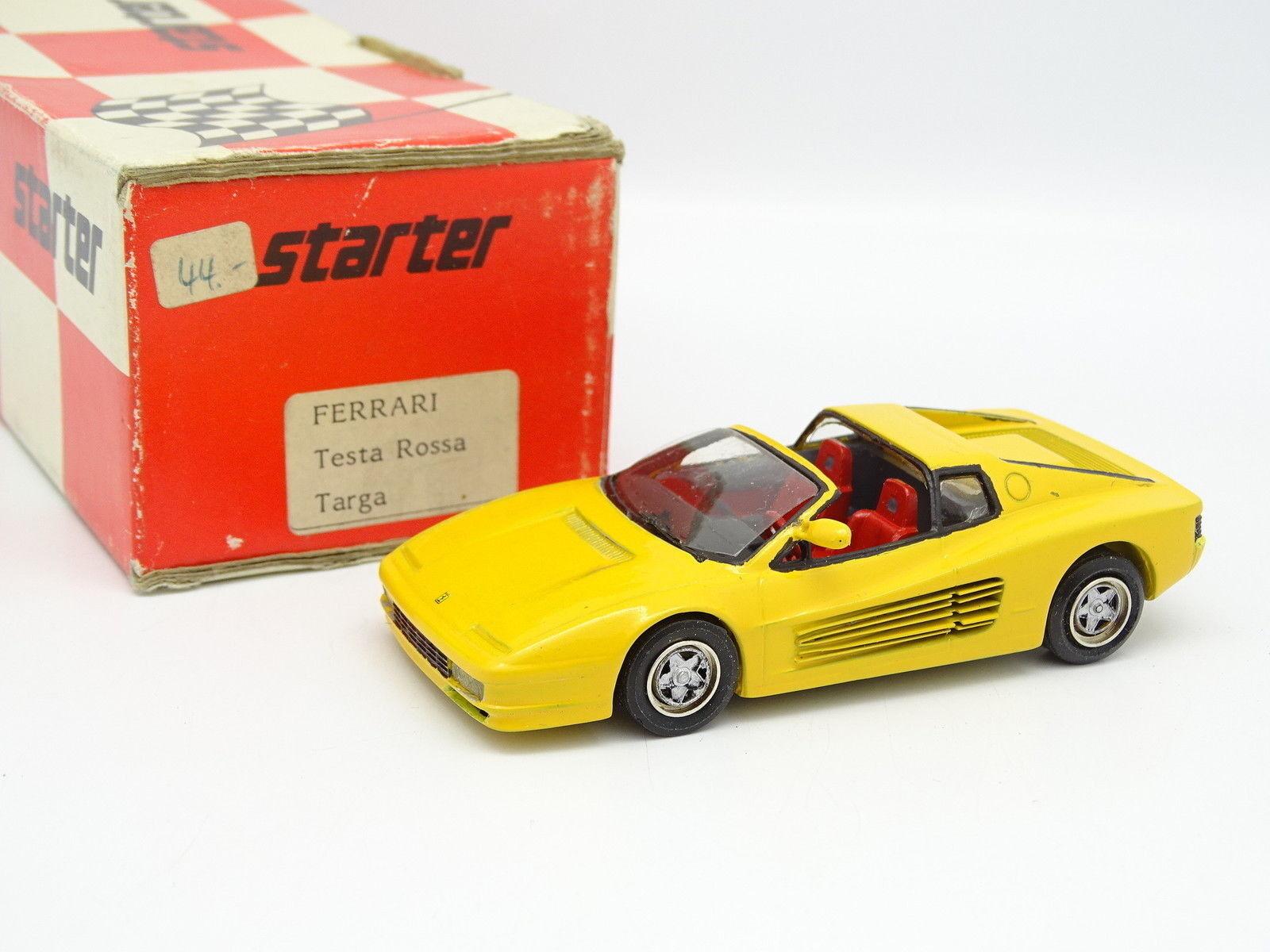Kit De Inicio Montado 1 43 - Ferrari Testarossa Testarossa Testarossa Targa Amarillo 0b070f