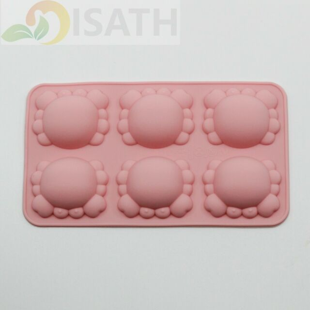 Crab Silicone Soap mold Candy Chocolate Fondant Tray ICE Cube