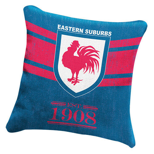 NRL Heritage Retro Cushion - Sydney Roosters - Pillow Bedding Lounge