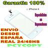 PANTALLA  TACTIL PARA IPHONE 4 4G 4S DIGITALIZADOR CRISTAL TOUCH SCREEN BLANCO N
