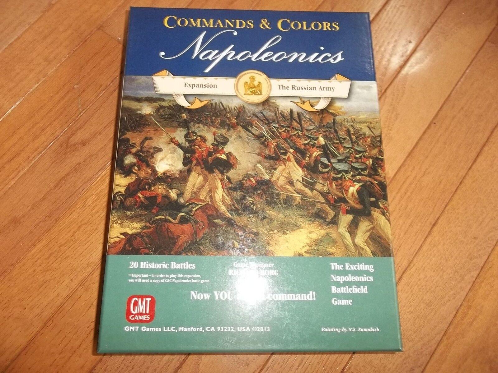 GMT Games Commands & Couleurs Napoleonics Expansion de l'armée Russe non perforé