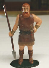 1950's-1960's  ANTIQUE NORSEMAN WITH RED BEARD AND SPEAR