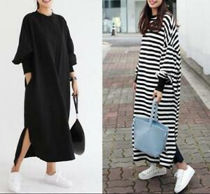 Ade overall vintage style loose-fitting dress