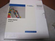 Abi Primer Express Software Version 20 Rev C