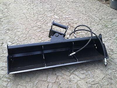 Effizient Grabenräumlöffel Löffel 1,40 M Hydraulisch Ms03 Neu
