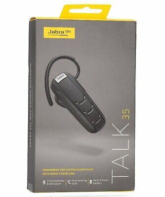 Jabra Talk 35 Bluetooth Headset For High Definition Hands Free Calls 615822010931 Ebay