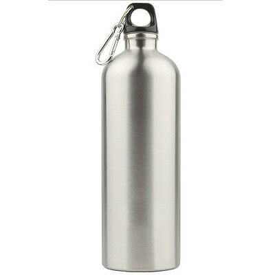 1000ML Stainless Steel Workout Cycling Sports Camping Travel Drink Water Bottle