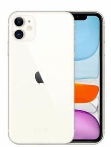 "APPLE IPHONE 11 64GB WHITE 4GB RAM 4G/LTE DISPLAY 6.1"" HD iOS 13"