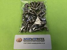 MGF / MG TF / LE500 FULL UNDER BONNET STAINLESS STEEL BOLT / SCREW PACK