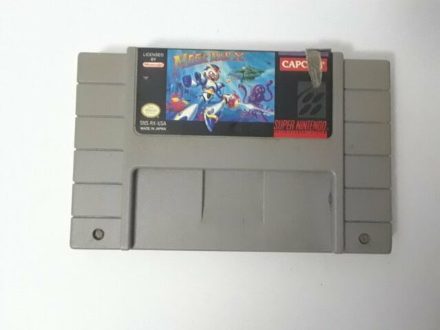 Mega Man X (Super Nintendo Entertainment System, 1993)