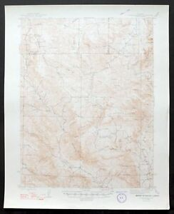 Topographic Map Colorado Springs.1948 Cover Mountain Colorado Vintage 15 Minute Usgs Topo