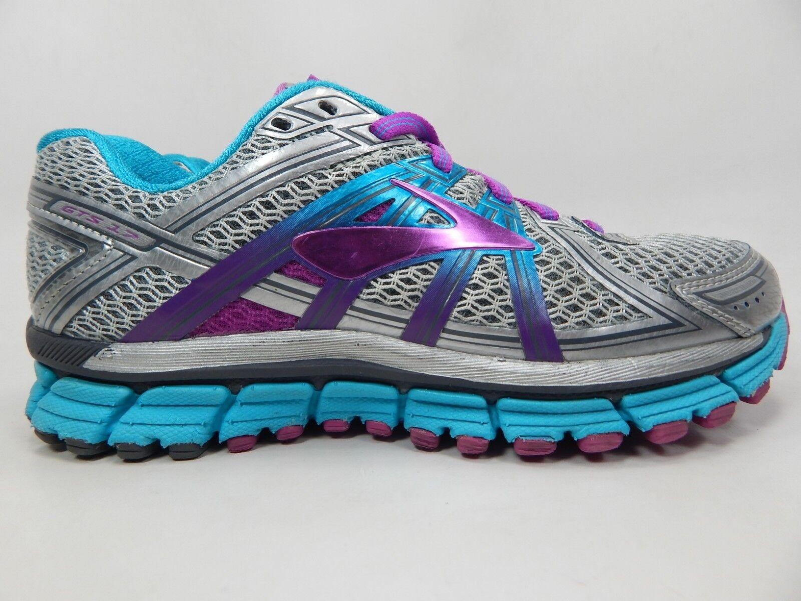 Brooks GTS 17 Size US 6 M (B) EU 36.5 Women's Running shoes Silver 1202311B055