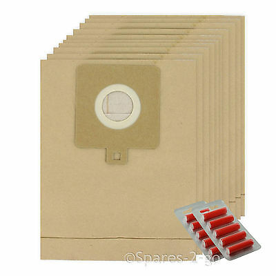 10 x Vacuum Cleaner Dust Bags For Electrolux Powerlite Z3318 Hoover Bag