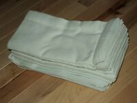 Jc Penny Set Of 12 Mint Green Celadon Cotton Napkins 20x20 Solid