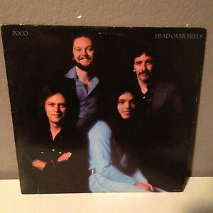"POCO - Head Over Heels - Vinyl Record 12"" LP - EX"
