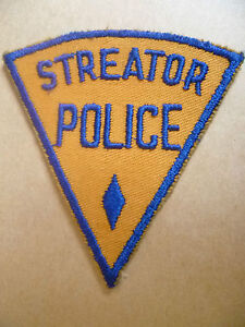 Patches-STREATOR-Illinois-POLICE-PATCH-NEW-apx-9x8-5-cm