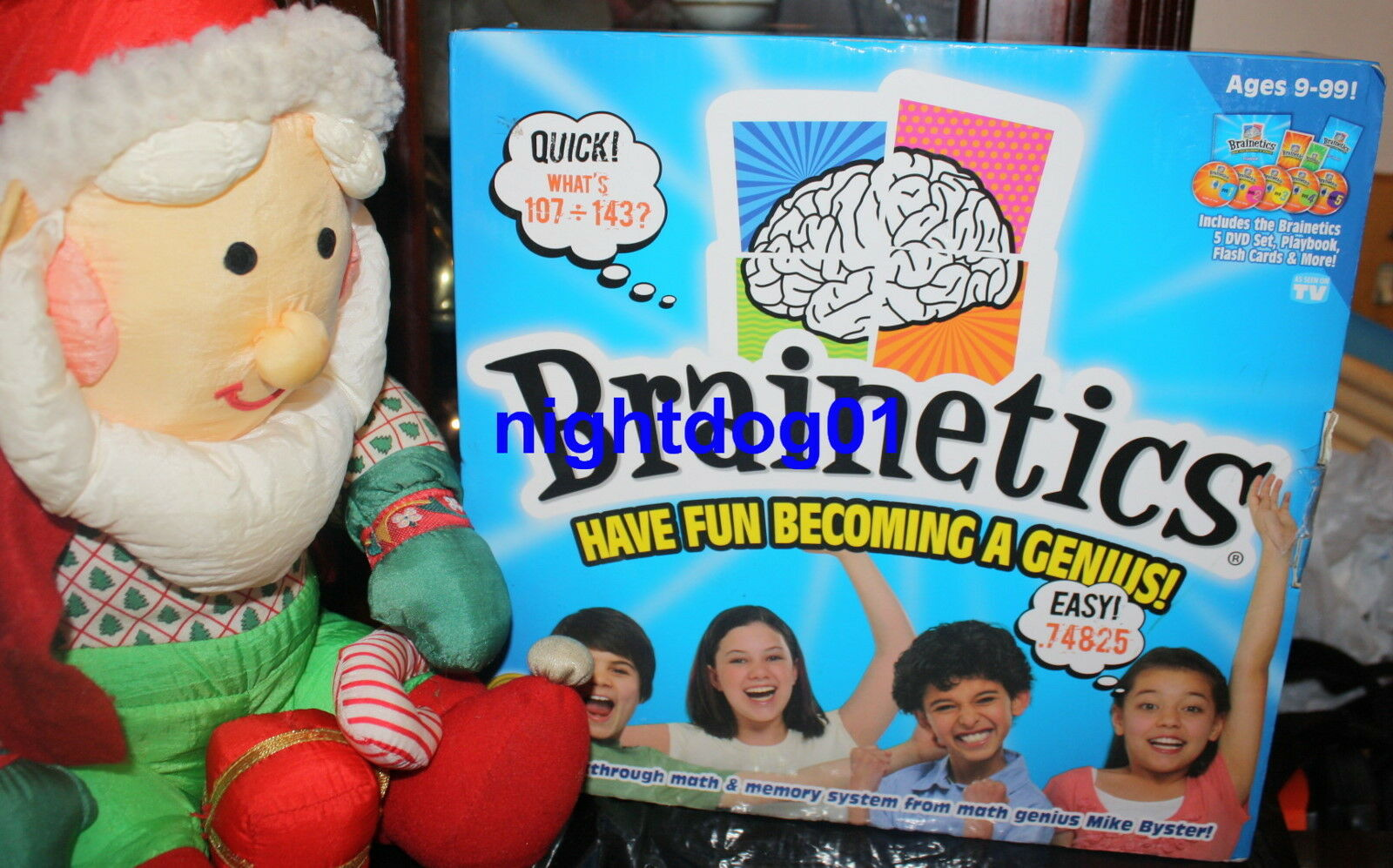 Brainetics Breakthrough Math Memory System Complete Set GENIUS MIKE BYSTER