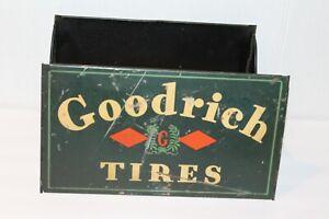 VINTAGE ANTIQUE  B.F. GOODRICH TIN TIRE DISPLAY GOODRICH TIRES  circa 1920's