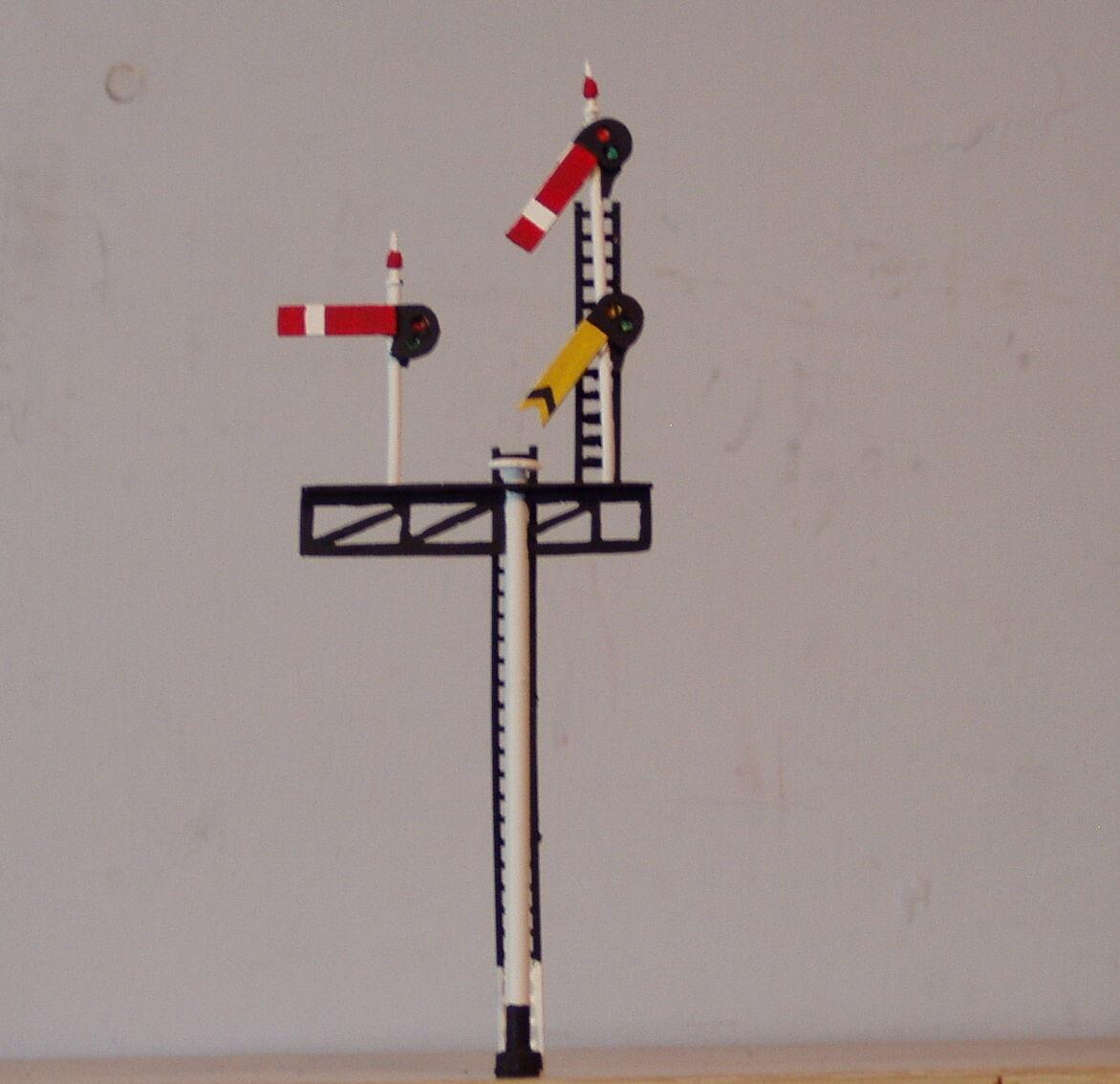 P&d Marsh Oo-Messgerät Z354l Gwr   Br Behig Junction Signal Bemalt & Gefertigt