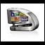 miniature 1 - XENA - Antivol Moto Bloque Disque Alarme 120 dB XX6 Acier 6mm