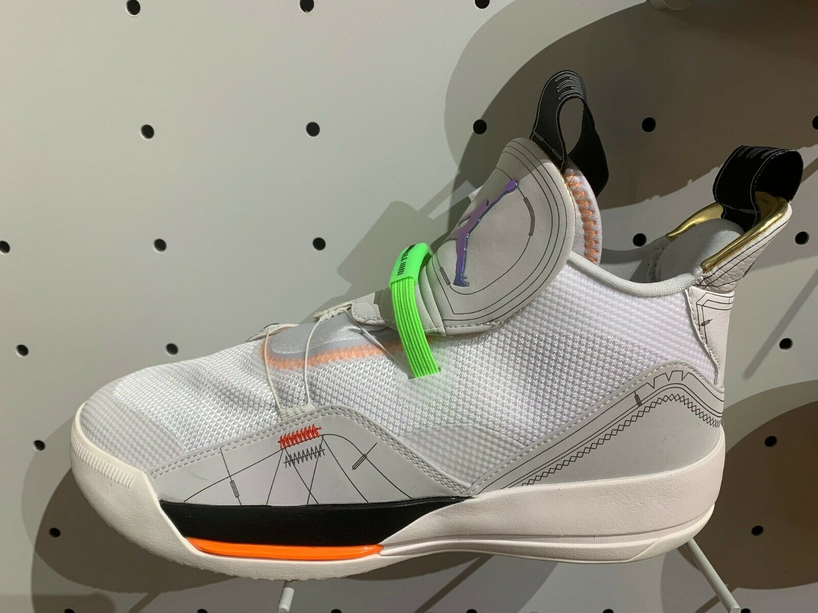 Nike Air Jordan 33 XXXIII Vast Grey Cone White Sail Size 8-14 New A8830-004 DS