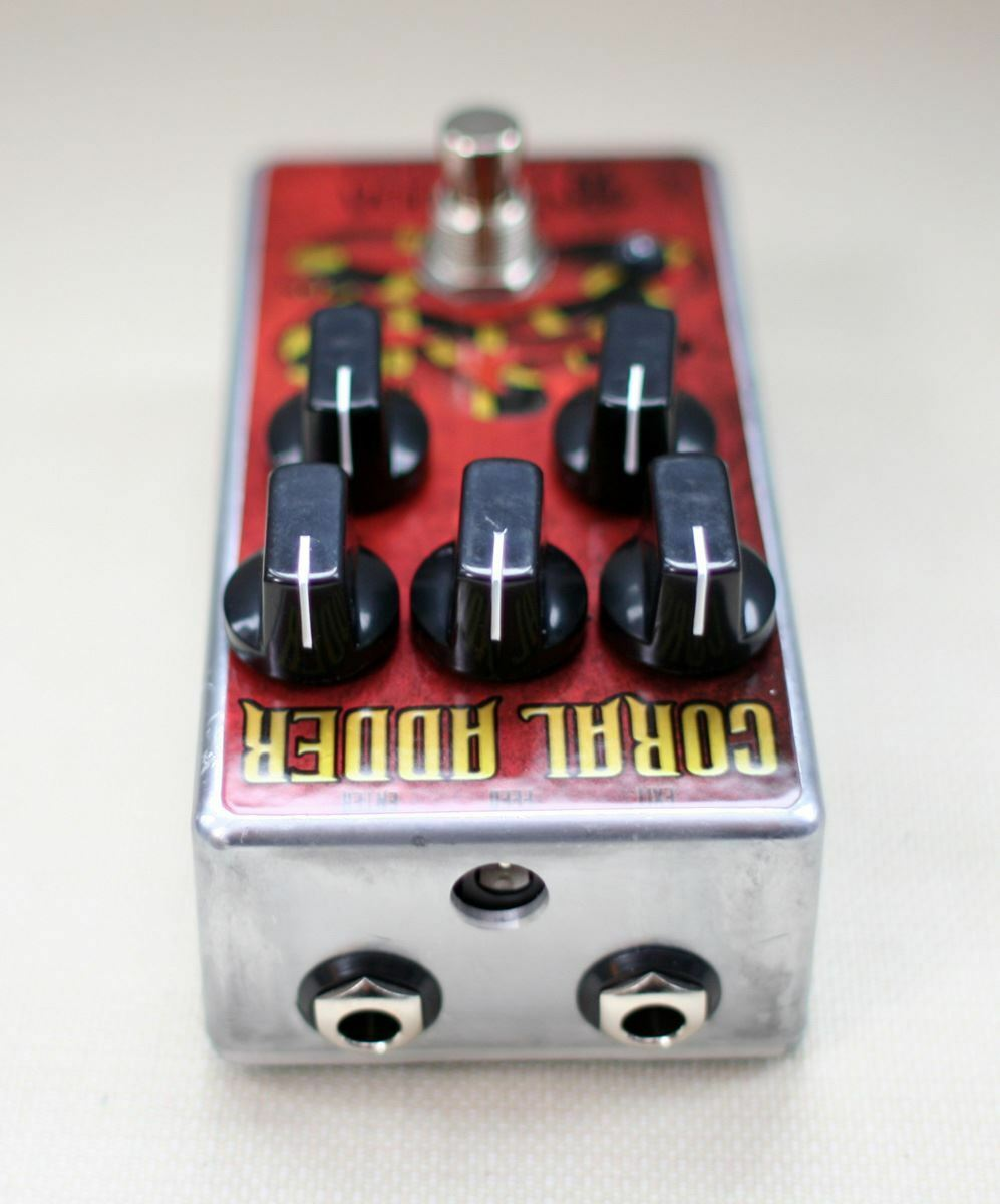 Tortuga efectos Coral Coral Coral Adder británico stortion Pedal 49c92a