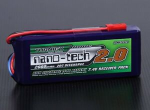 RC-Turnigy-nano-tech-2000mAh-2S1P-20-40C-Lipo-Receiver-Pack