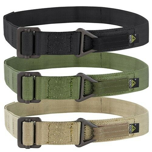 Condor RB Tactical Military Duty Emergency Rigger Utility Belt Sizes ALL SIZES
