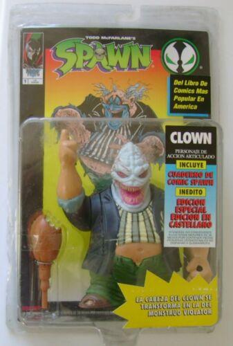 Spawn Series 1 CLOWN Action Figure McFarlane Toys Ed Spagnola