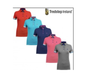 Tredstep Ladies Performance Polo Top  Classic Navy XS (size 6-8)