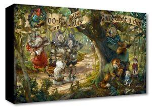 Disney Fine Art Treasures On Canvas Collection Robin Hood-Oo-De-Lally-Edwards