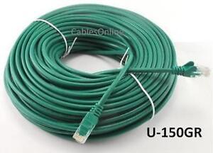 Intellinet-150ft-CAT5E-UTP-Ethernet-RJ45-Patch-Cable-GR
