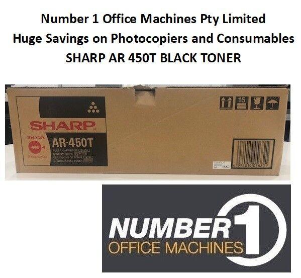 New & Original Sharp AR-450T Black Toner AR M350 M450 P350 P450 30K Pages