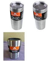 Ozark Stainless Steel Insulated Thermos Travel Tumbler Cup Koozie 20 30 Oz Lid