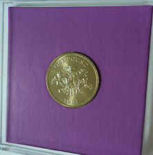 1981 Guernsey Lily & Shield of the Bailiwick £1 Coin BU Gift Set in Display Case