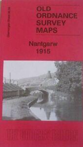 OLD ORDNANCE SURVEY MAP NANTGARW 1915